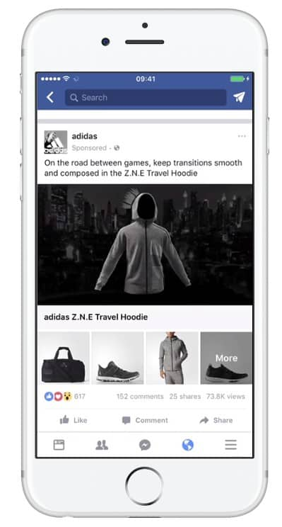 facebook catalogus ad