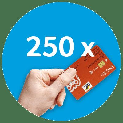 250-transacties