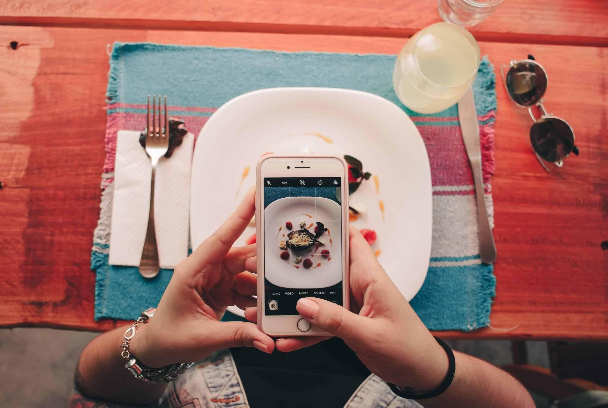 maaltijd instagram