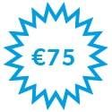 75 euro korting partena leden