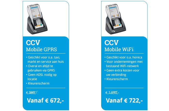 Mobile vervangen