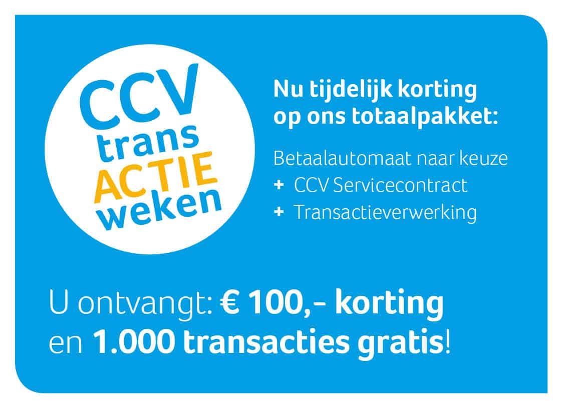 CCV transactieweken actieblok
