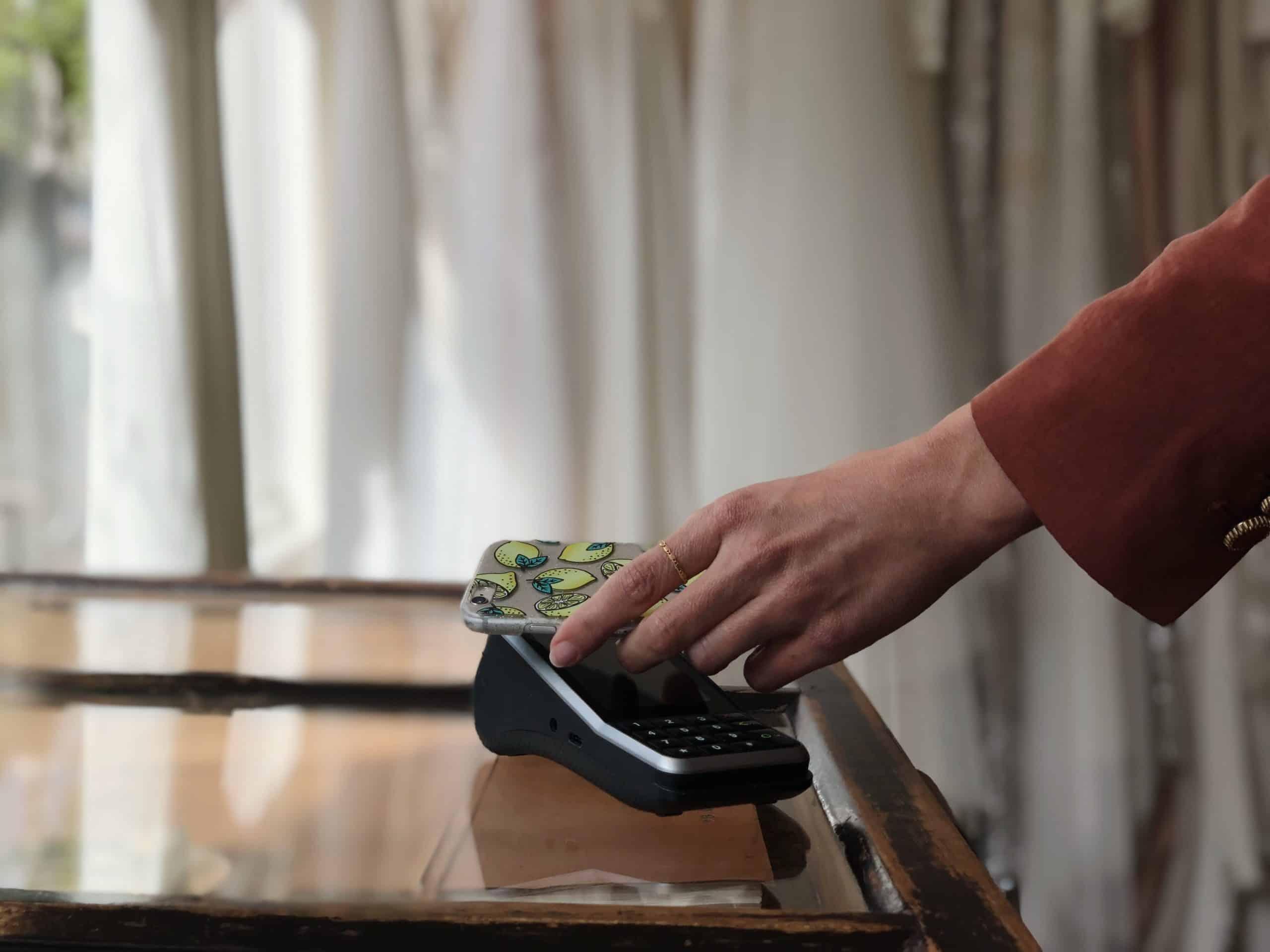 QR code payments CCV