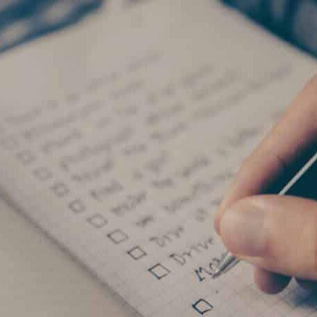 Checklist betaaloplossing